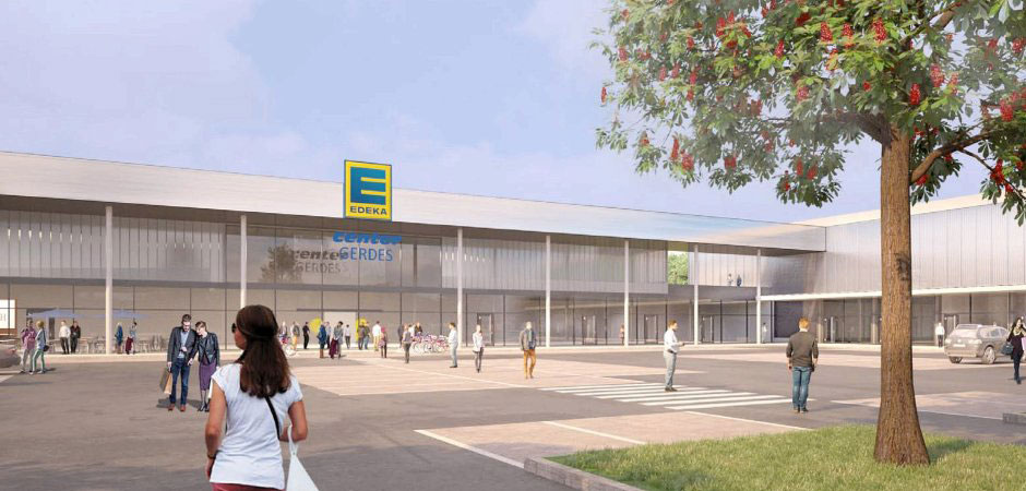 Das neue Edeka-E-Center in Moers
