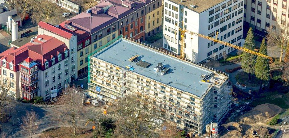 Richtfest am Campus des Evangelischen Krankenhauses in Mülheim (EKM)